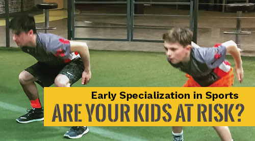 Early specialization in sports: Are Your Kids At Risk? Stan Skolfield ATC, CSCS